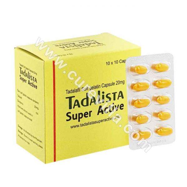 Tadalista Super Active 20mg