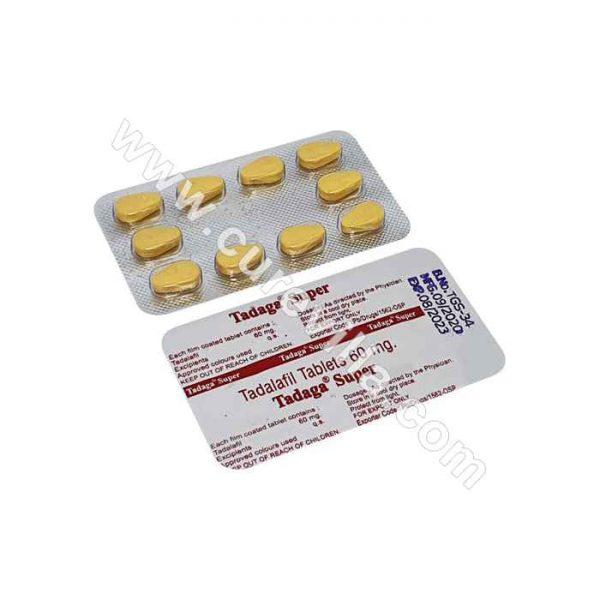 Tadaga Super 60 mg